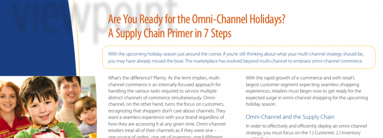 How to Get Ready For the Omni-Channel Holidays